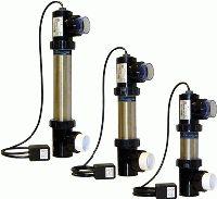 Edelstahl UVC-Lampe 90 Watt -  Ø 101 mm