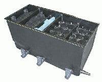 GFK-Eco-Reihenfilter mit 5 Filterkammern