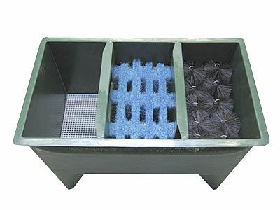 Aqualogistik Reihenfilter mit 3 Filterkammern