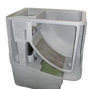 Cetus Siebfilter - Schwerkraft - 300 Micron