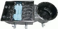 ECO Vortexfilter mit 3 Filterkammern