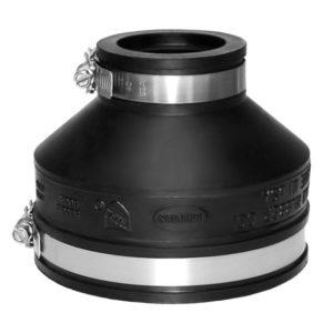 EPDM Adapterkupplung Ø 100 - 115 / 40 - 50 mm