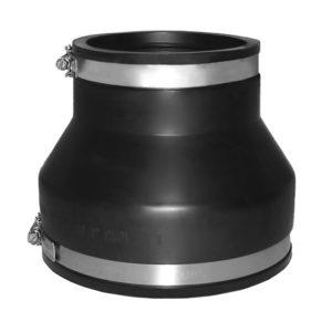 EPDM Adapterkupplung Ø 155 - 170 / 100 - 115 mm