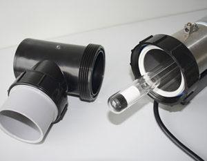 Ersatz Quarzröhre für UVC-Lampe 45 Watt - Ø 101 mm
