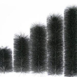 Füllpaket für GFK Modulfilter - Filterbürsten