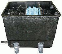 GFK-Eco Reihenfilter mit 3 Filterkammern