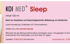 Koi Med Sleep 100 ml - mit Dosierer