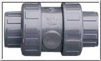 PVC Rückschlagventil ø 40 mm
