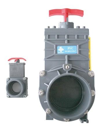 PVC Zugschieber ø 110 mm