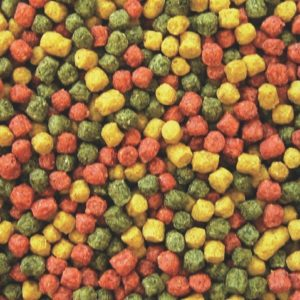 Profi Futter Mix rot/grün/gelb Ø 6 mm