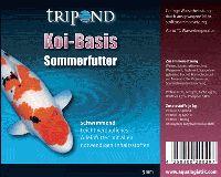 Tripond Koi Basis Sommerfutter Ø 8mm - schwimmend