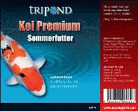 Tripond Koi Premium Sommerfutter Ø 5mm - schwimmend