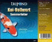 Tripond Koi Vollwert Sommerfutter Ø 3 mm - schwimmend