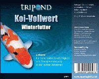 Tripond Koi Vollwert Winterfutter Ø 5mm - sinkend