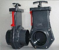Tripond PVC Zugschieber ø 110 mm
