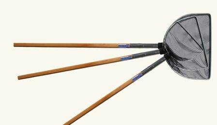 Japankescher 60x42 cm, mit Holzstiel