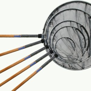 Japankescher Ø 40 cm, mit Holzstiel 60 cm