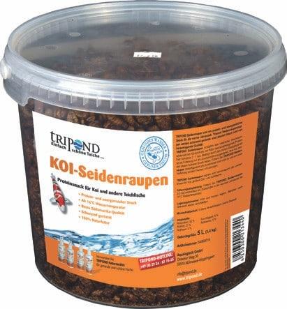 Tripond Koi Seidenraupen 5 Liter