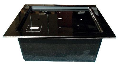 GFK-Springbrunnendeckel eckig 125 x 125 cm, ca. 400 kg