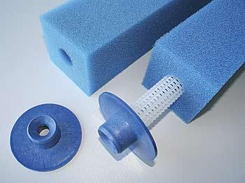Filterpatrone kurz, mittel 10x10x33 cm