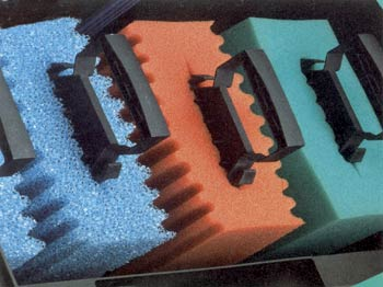 Ersatzschwamm Rot für Biotec 5.1 und 10.1 (3 Stück)